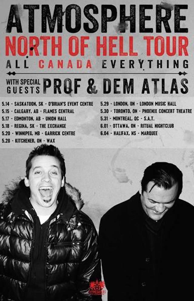 Atmosphere tour dates