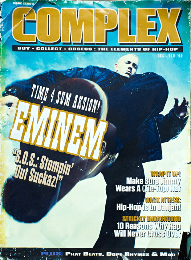 Complex Magazine April/May 2007 Jarah Mariano (Vans) James Franco +Kanye West