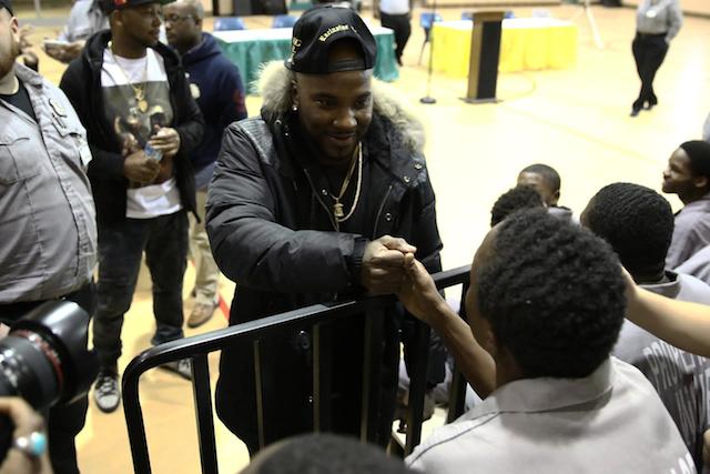 Jeezy Makes Surprise Visit To Michigan Juvenile Detention Center