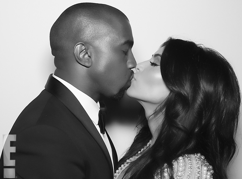 Kanye West, Kim Kardashian Release Wedding Photographs