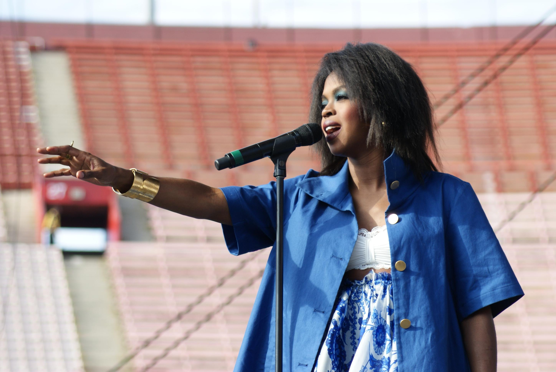 Ms. Lauryn Hill at L.A. Rising Festival