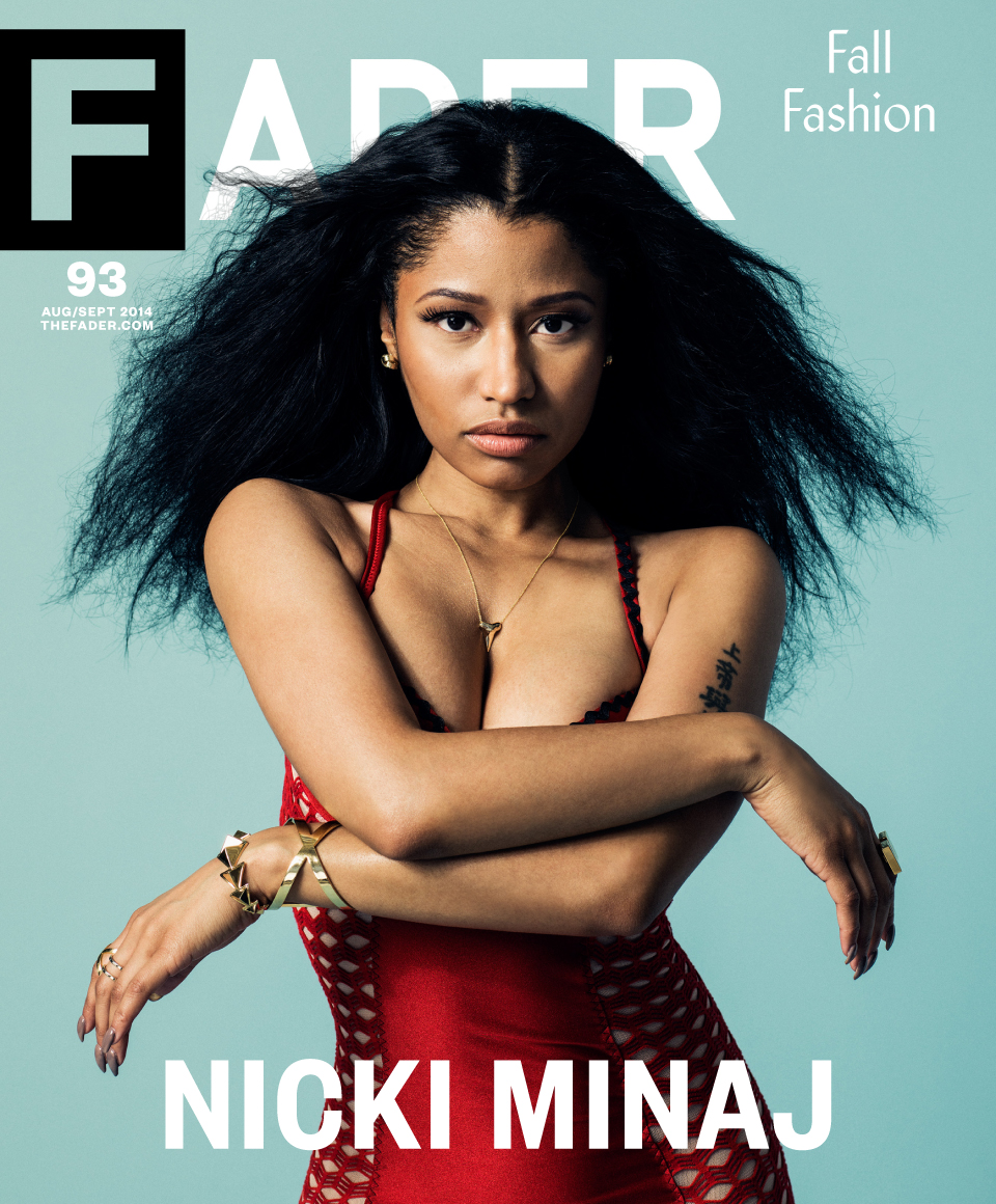 Nicki minaj says she ll always view lil wayne as the king in fader cover story hiphopdx