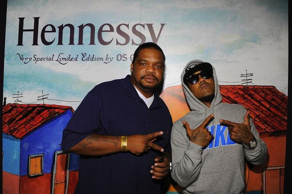 Wish Bone and Problem at Hennessy VS Os Gemeos Launch Event