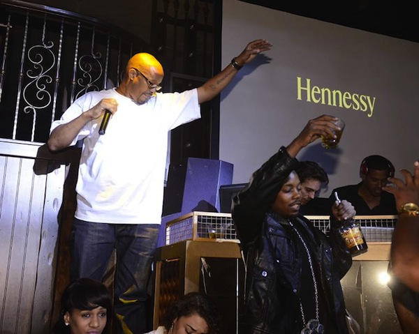 Warren G performing at Hennessy VS Os Gemeos Launch Event
