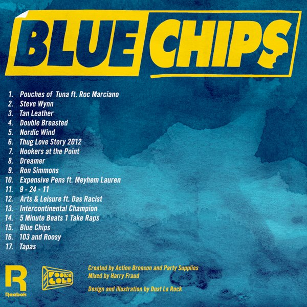 Action Bronson Party Supplies Blue Chips Cover Art Tracklist